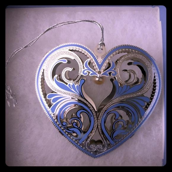 Vantel Pearls Holiday Vantel Pearls Heart Angel Of Gratitude Ornaments Poshmark